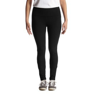 Women's Full-length Black Nylon/Spandex Dry-wicking Leggings