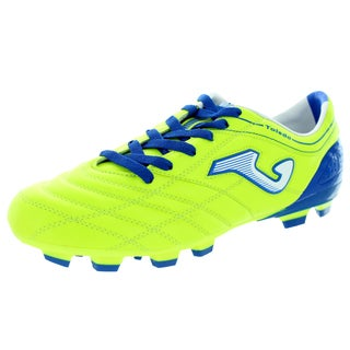 Joma Men's Toledo 211 Piso Srm Green/Blue Soccer Cleat