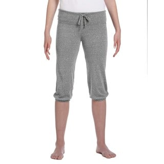 Women's Eco Grey Eco-jersey Cropped Pants