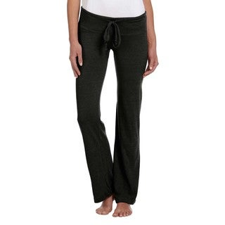 Women's Black Eco-jersey Long Pants