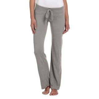 Women's Grey Eco-jersey Long Pants