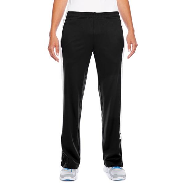 Elite Women's Black/White Performance Fleece Pant. Opens flyout.