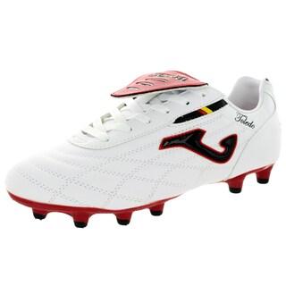 Joma Men's Toledo N 102 Multi White/Red/Black Soccer Cleat