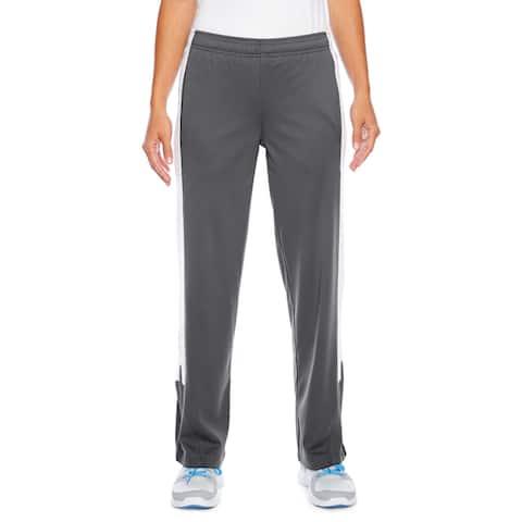 Elite Women's Performance Fleece Graphite/White Sport Pants