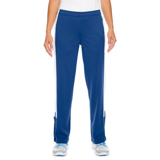 Link to Elite Women's Performance Royal Blue and White Polyester Fleece Sport Pants Similar Items in Athletic Clothing
