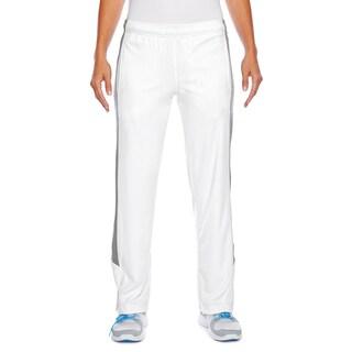 Elite Women's White/Sport Graphite Fleece Performance Pant