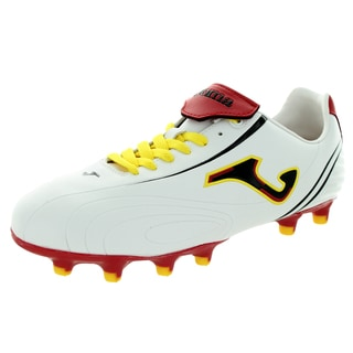 Joma Men's Fit One-006 Multi White/Yellow/Red Soccer Cleat
