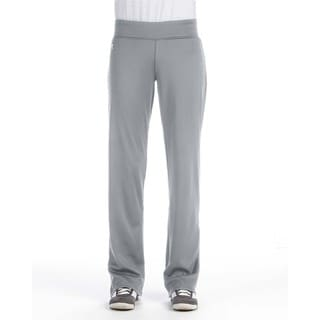 Women's Tech Fleece Steel Polyester Mid-rise Loose-fit Pants