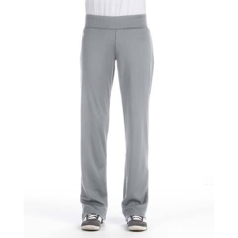 Women's Tech Fleece Steel Polyester Mid-rise Loose-fit Pants