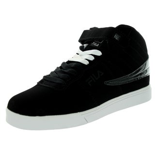 Fila Men's Vulc 13 Black/White/Metallic Silver Casual Shoe