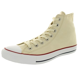 Converse Unisex Chuck Taylor All Star Hi Natural White Basketball Shoe