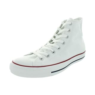 Converse Chuck Taylor All Star High Optical White High Tops https://ak1.ostkcdn.com/images/products/12319057/P19152112.jpg?impolicy=medium