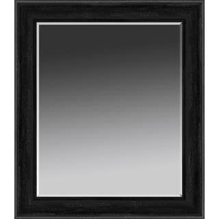 Black Rectangular Wall Mirror