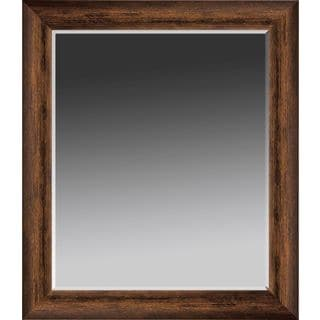 Bronze Contemporary Framed Wall Mirror