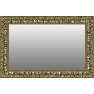 Gold/Silver Rectangular Wall Mirror