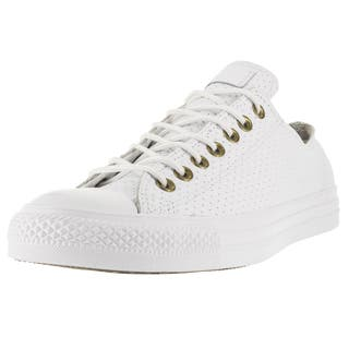 Converse Unisex Chuck Taylor All Star Ox White/Biscui Basketball Shoe (Option: 11.5)|https://ak1.ostkcdn.com/images/products/12319080/P19152205.jpg?impolicy=medium