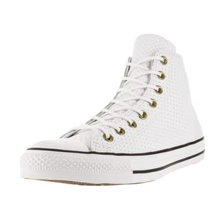 Converse Unisex Chuck Taylor All Star Hi White/Biscui Basketball Shoe (Option: 11.5)|https://ak1.ostkcdn.com/images/products/12319081/P19152206.jpg?impolicy=medium