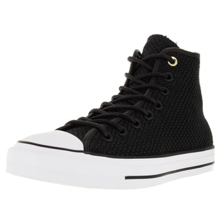 Converse Unisex Chuck Taylor All Star Hi Black/Black Basketball Shoe