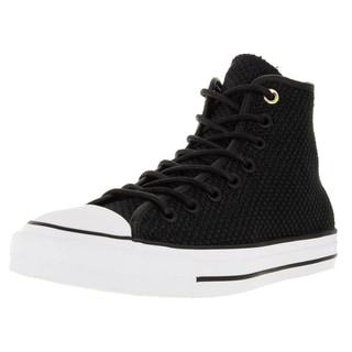 Converse Unisex Chuck Taylor All Star Hi Black/Black Basketball Shoe