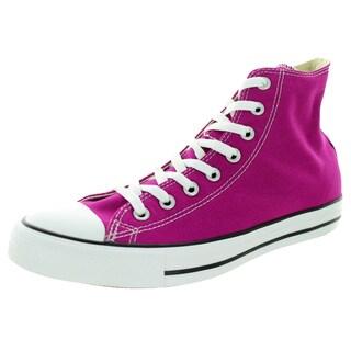 Converse Unisex Chuck Taylor Hi Pink Sapphir Basketball Shoe