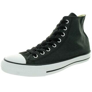 Converse Unisex Chuck Taylor Hi Black/Black/Charcoal Basketball Shoe