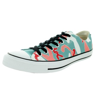 Converse Unisex Chuck Taylor Warhol Ox Ni Nile Blue Sea Basketball Shoe