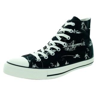 Converse Unisex Chuck Taylor Hi Black/Parchm Basketball Shoe