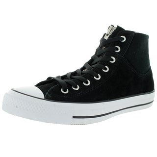 Converse Unisex Chuck Taylor MA-1 Zip Hi Black/Black Casual Shoe