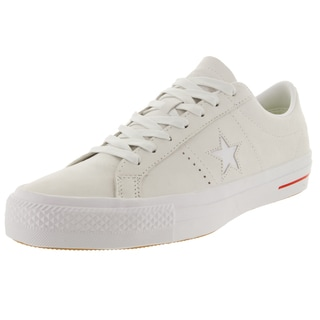 Converse Unisex One Star Pro Ox White/Red/Bl Skate Shoe