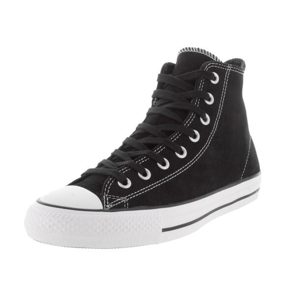 Shop Converse Unisex Chuck Taylor All Star Pro Hi Black White Skate ... 663877e69