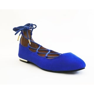 Lace-up Ballerina Flat