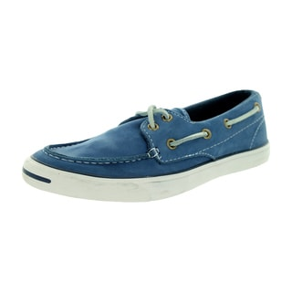 Converse Unisex Jack Purcell Boat Lp Ox Navy Casual Shoe
