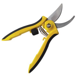 Dramm 60-18043 Yellow Bypass Pruner With Stainless Steel Blades