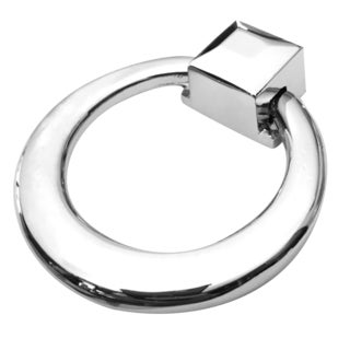 Southern Hills Polished Chrome Cabinet Drawer Ring Pulls (Pack of 5)