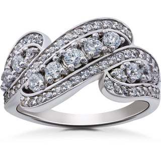 14k White Gold 1 1/4ct TDW Diamond Ring (I-J,I2-I3)