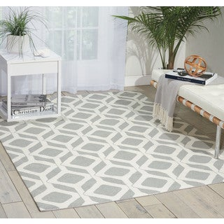 Nourison Enhance Grey Area Rug (2'6 x 4')