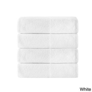 Incanto Luxurious Turkish Cotton 4-Piece Bath Towel Set