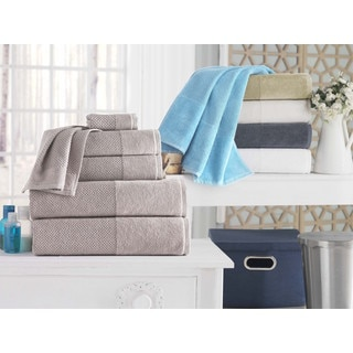 Incanto Luxurious Turkish Cotton 4-Piece Bath Towel Set