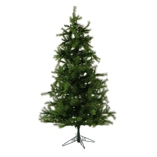 Fraser Hill Farm 7-foot Green Plastic/Metal Southern Peace Pine Christmas Tree