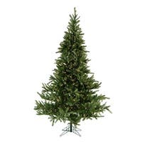 Fraser Hill Farm 7.5-foot Noble Fir Christmas Tree with Smart String Lighting