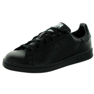 Adidas Kid's Stan Smith J Originals Black/Black/White Casual Shoe