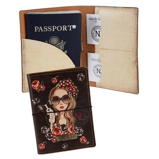 Nicole Lee Betty Print Passport Holder