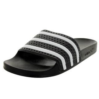 Adidas Men's Adilette Black/White/Black Sandal (Option: White)|https://ak1.ostkcdn.com/images/products/12319800/P19152774.jpg?impolicy=medium