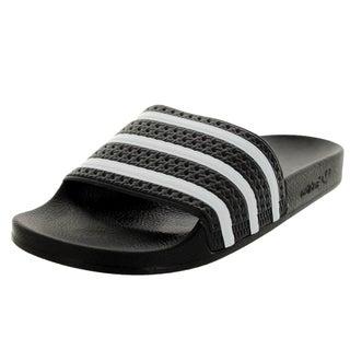 Adidas Men's Adilette Black/White/Black Sandal