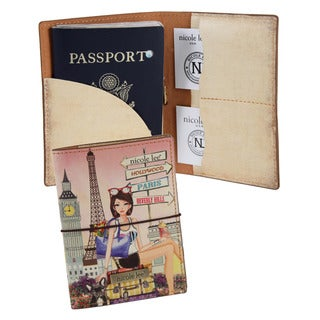Nicole Lee Chloe Print Passport Holder