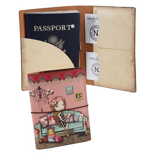 Nicole Lee Iris Print Passport Holder