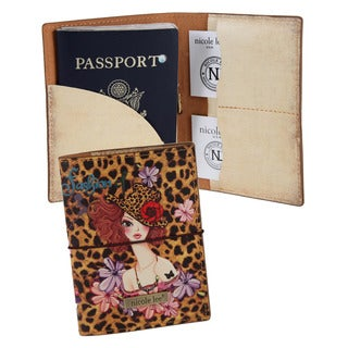 Nicole Lee Sunny Print Passport Holder