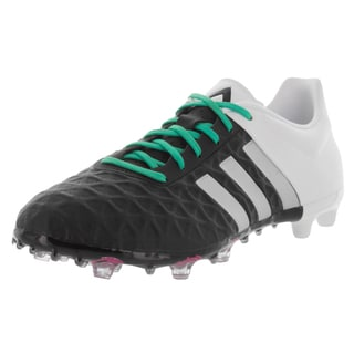 Adidas Men's Ace 15.2 Fig/Ag Blackver/White Soccer Cleat
