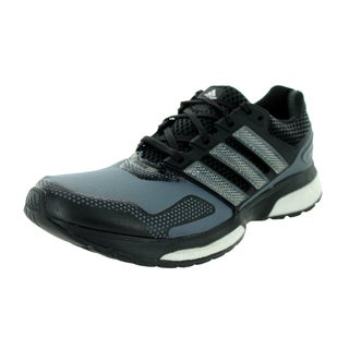 Adidas Men's Response Boost 2 Techfit M Black/Grey Running Shoe