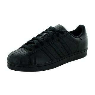 Adidas Men's Superstar Foundation Originals Black Basketball Shoe